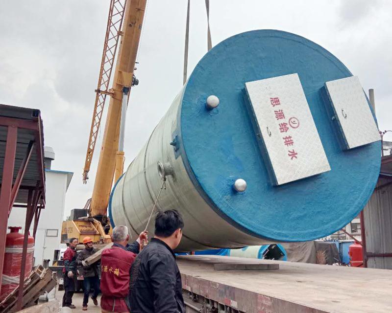 武汉污水提升一体化泵站