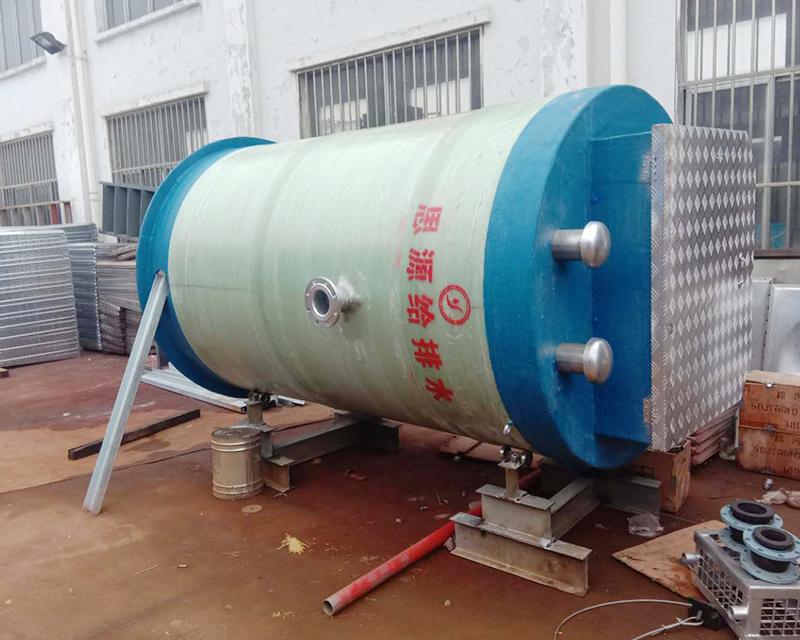 城镇雨水一体化提升预制泵站