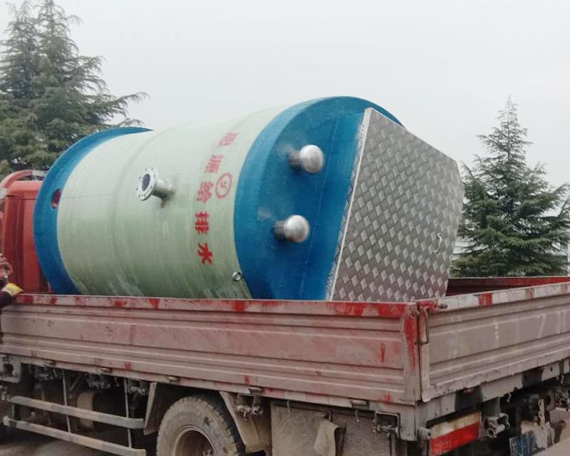 市政给水一体化泵站