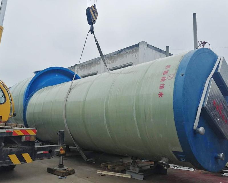 一体化原水取水预制泵站