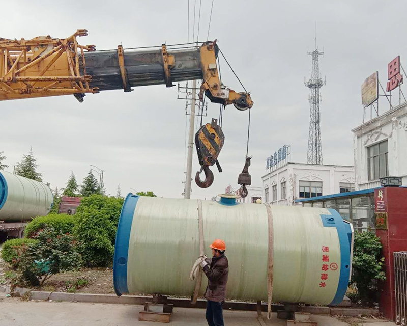 取水原水一体化预制泵站