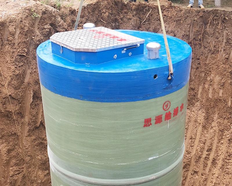 城镇污水提升预制泵站